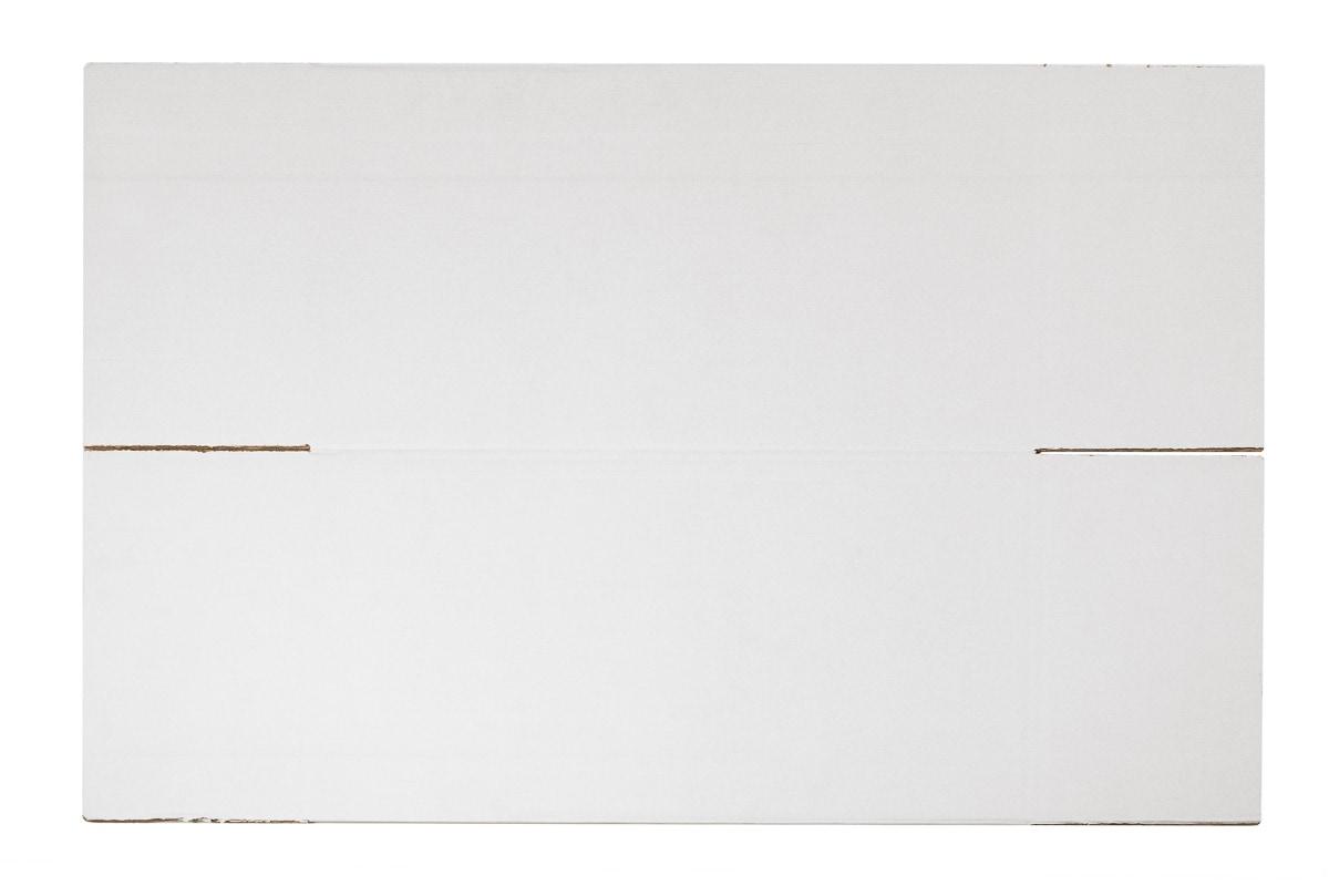 Kartonnen doos wit - 450 x 450 x 565mm (dubbele golf)
