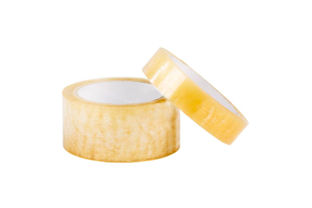 Antistatische ESD tape transparant - 48mm x 66m (6 st)