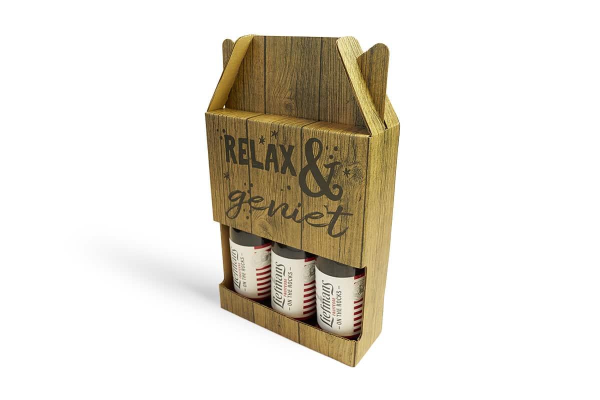 Relax & geniet bier doos - 180 x 60 x 235mm