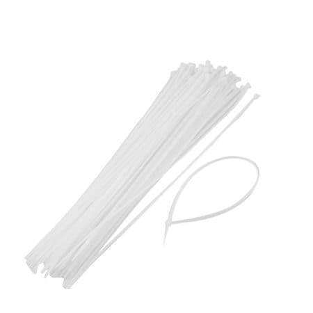 Kabelbinders wit - 300mm x 3,6mm (100 st)