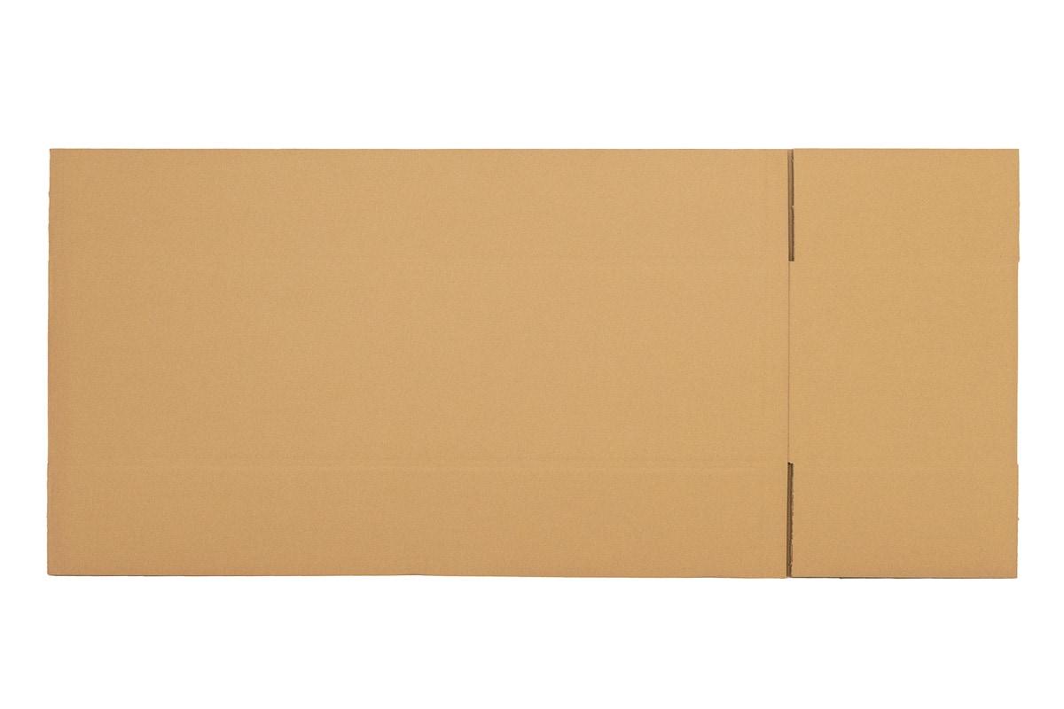 Langwerpige kartonnen doos - 1650 x 400 x 350mm (dubbele golf)