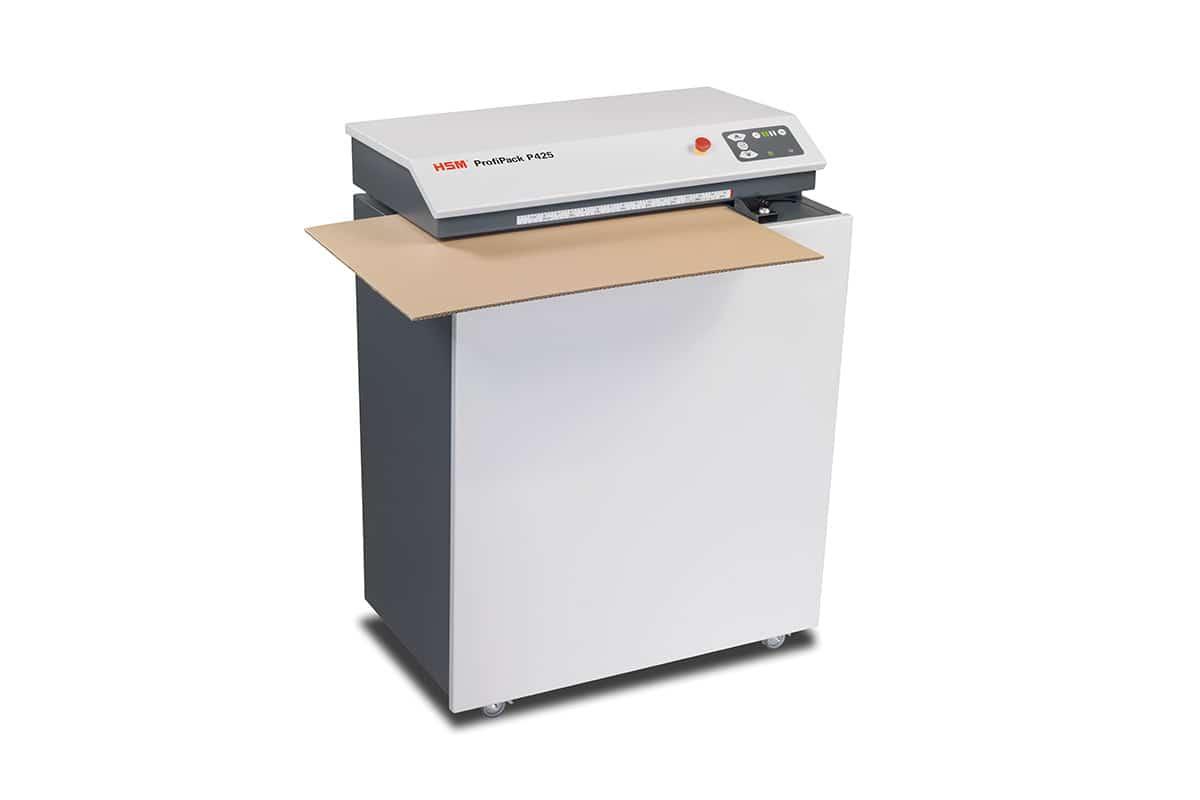 HSM Profipack P425 kartonperforator met afzuigsysteem
