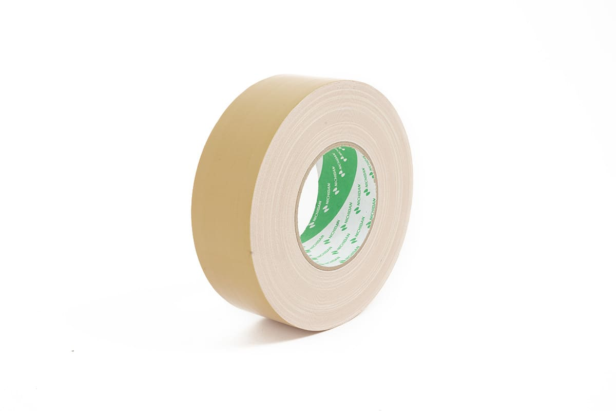 Nichiban® 1200 gaffa tape beige - 50mm x 50m