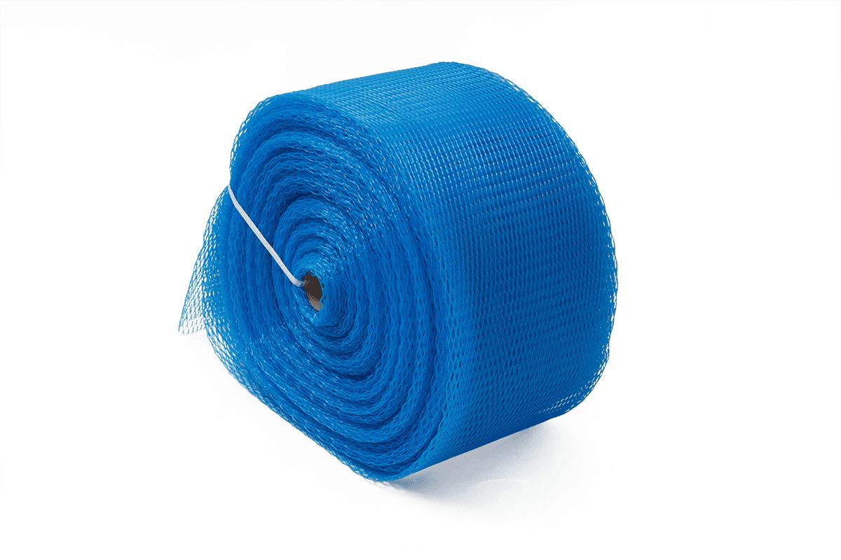 Plastic buisnet blauw - 200-300mm x 50m