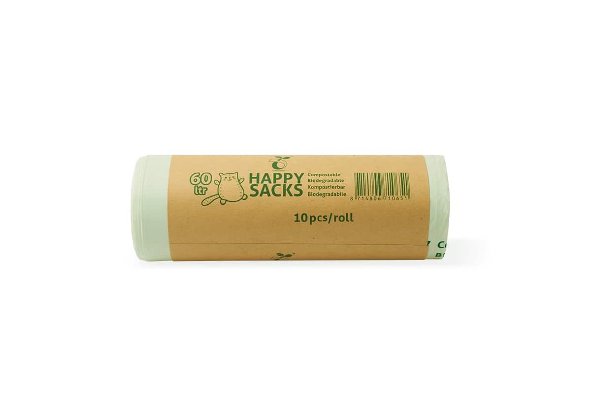 Happy Sacks bio GFT afvalzakken 100L - 70x110 cm