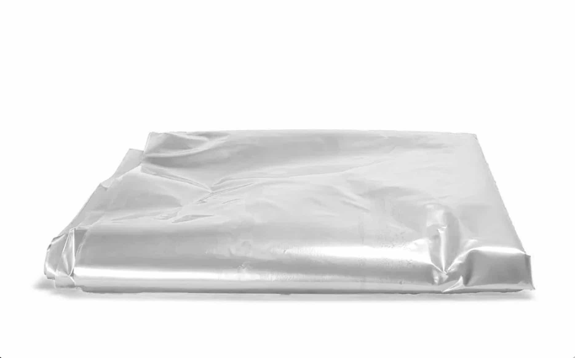 Plastic matrashoezen transparant 1 persoons - 2300 x 1000 x 220mm (25 st)