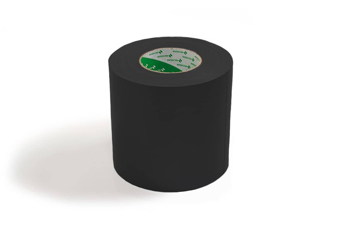 Nichiban® 1200 gaffa tape zwart - 150mm x 50m