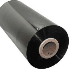 Machinewikkelfolie zwart - 50cm x 1500m x 23my (300% rek)