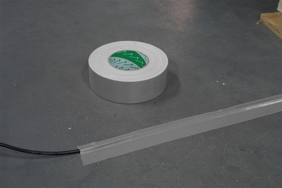 Nichiban® 1200 gaffa tape grijs - 75mm x 50m