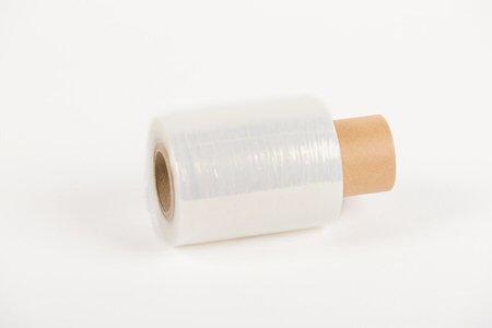 Bundelfolie transparant - 10cm x 150m x 20my (5 st) + GRATIS dispenser