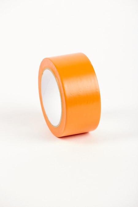 Stuclopertape removable oranje - 50mm x 33m