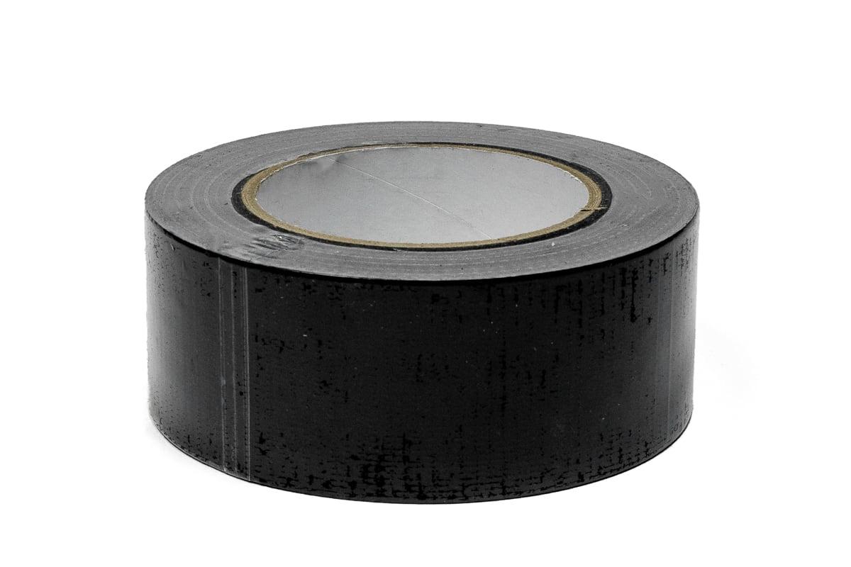 Duct tape zwart - 50mm x 50m