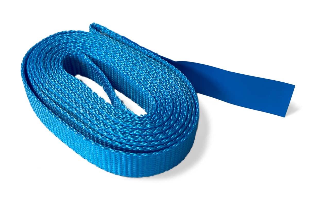 Hijsband eindloos blauw - 25mm x 1,5m