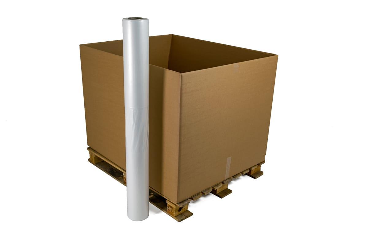 Plastic KLT krathoezen transparant - 130 x 100 x 210cm (45 st)