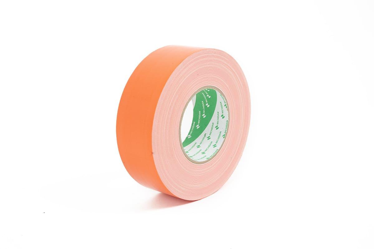 Nichiban® 1200 gaffa tape oranje - 50mm x 50m