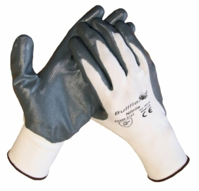 Bull-flex nitril montage handschoenen - 24 paar