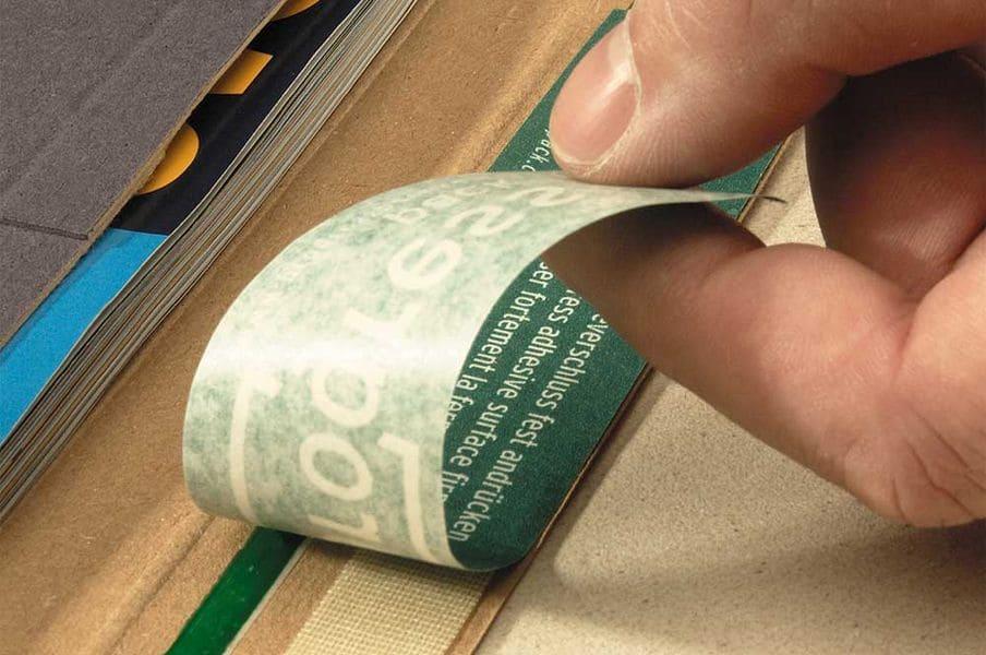Massief kartonnen enveloppen zwart C4 - 255 x 342 x 0-30mm (100st)