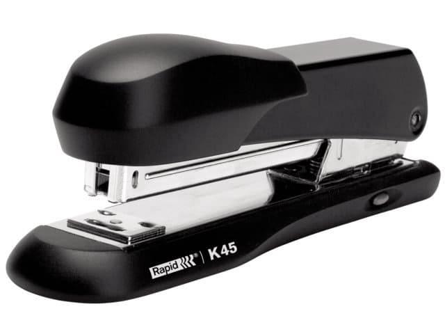Nietmachine zwart Rapid K45 Halfstrip 20 vel 24/6 (2 st)