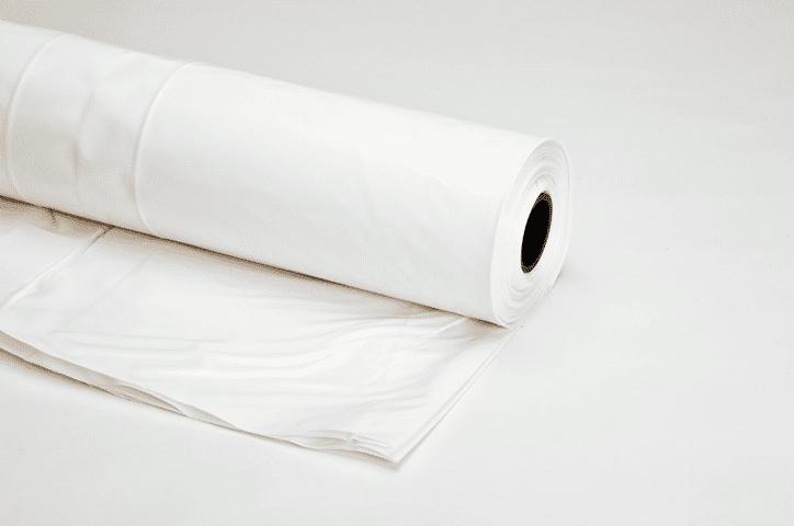 Krimpfolie wit (steiger) - 800cm x 50m x 150my