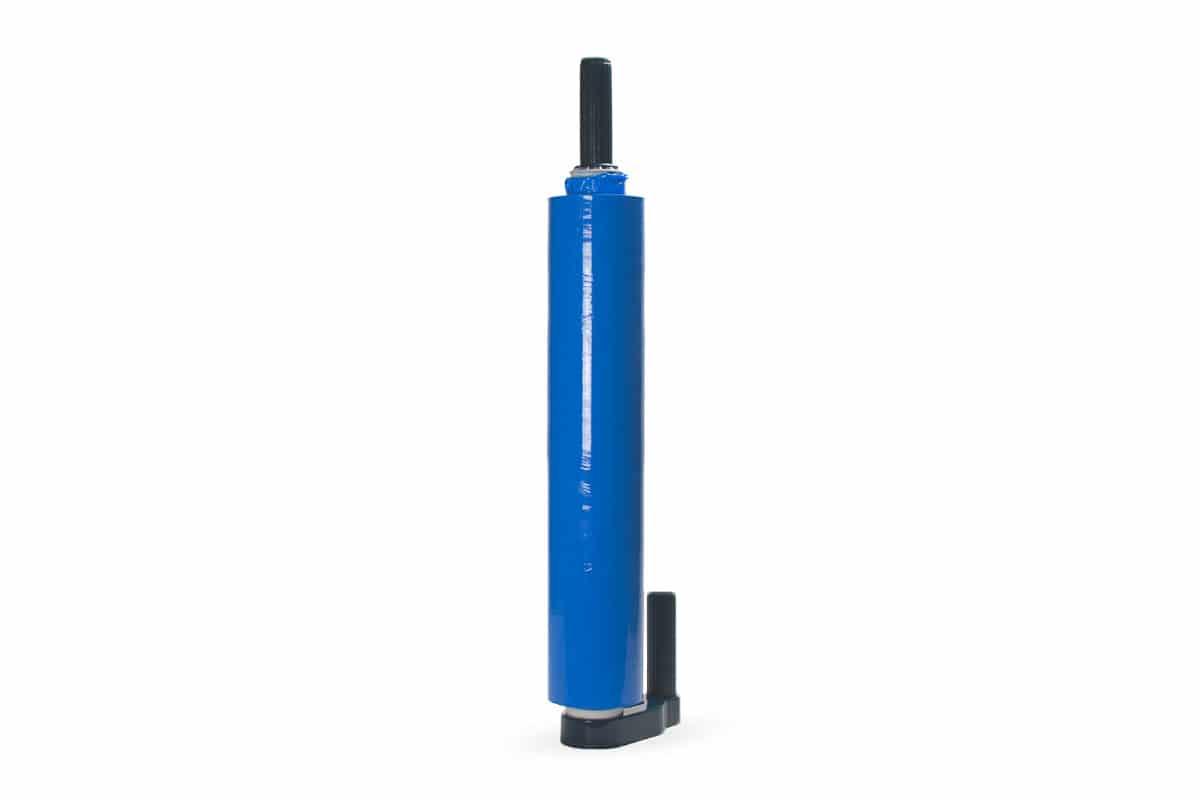 Handwikkelfolie dispenser DUO - blauw