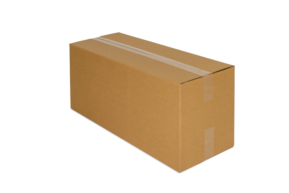 Kartonnen doos - 630 x 270 x 270mm (enkele golf)