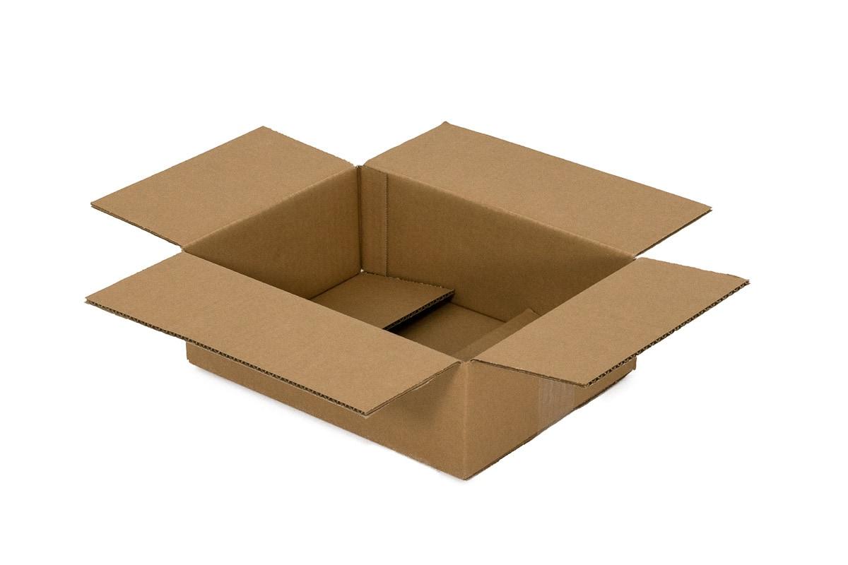 Kartonnen doos - 305 x 220 x 100mm (enkele golf)