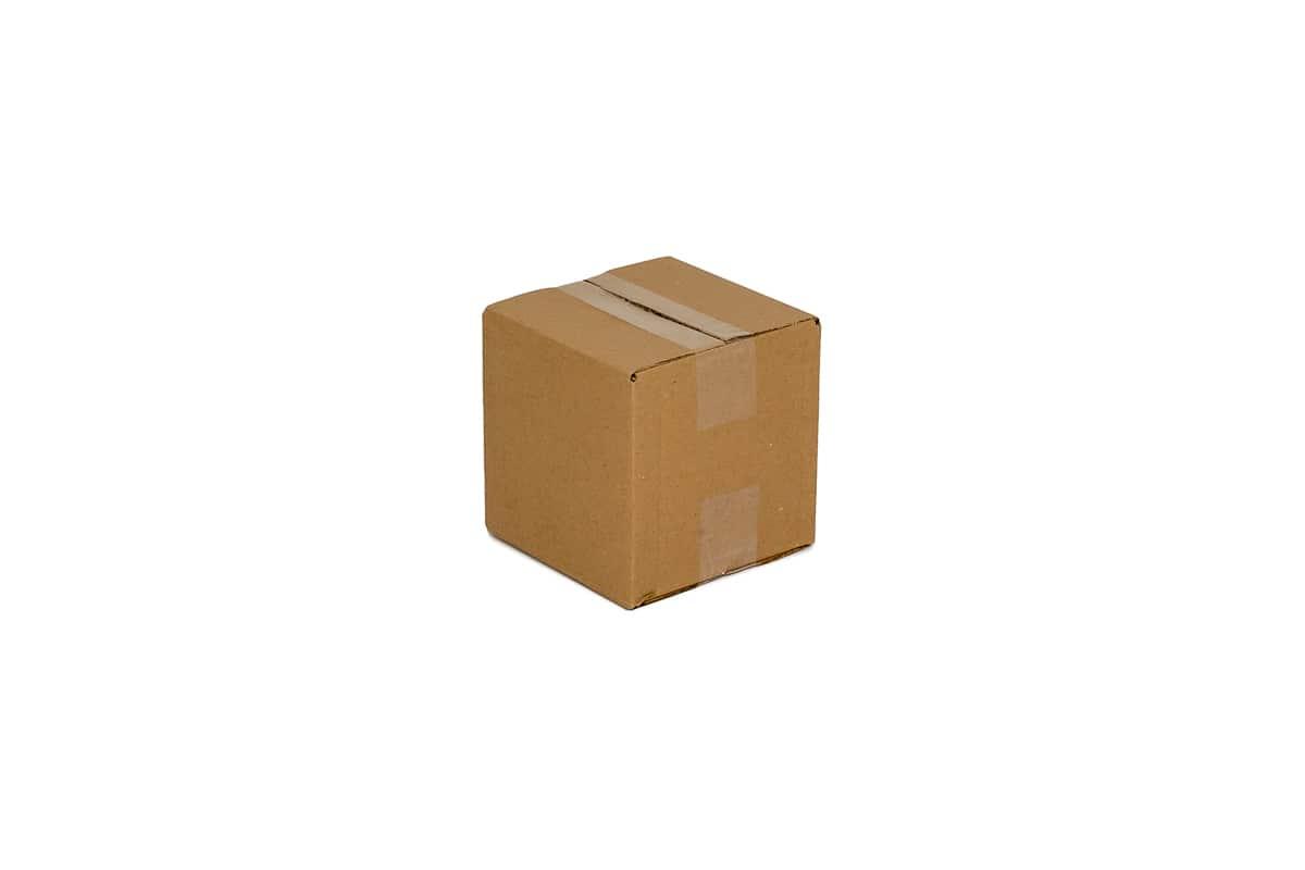 Kartonnen doos - 200 x 200 x 200mm (enkele golf)