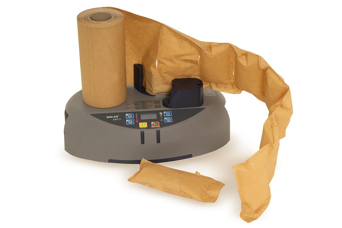 PP-air luchtzakjes machine NANO 4.0 met 3 rollen papieren zakjes