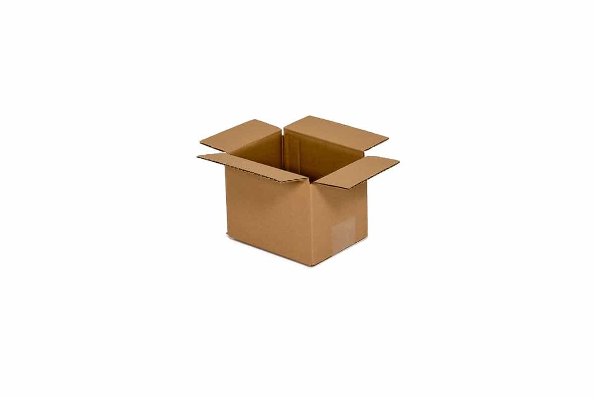 Kartonnen doos - 150 x 110 x 110mm (enkele golf)