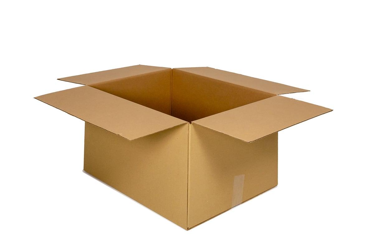 Kartonnen doos - 350 x 250 x 250mm (enkele golf)