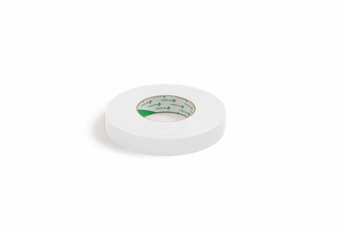 Nichiban® 1200 gaffa tape wit - 19mm x 50m