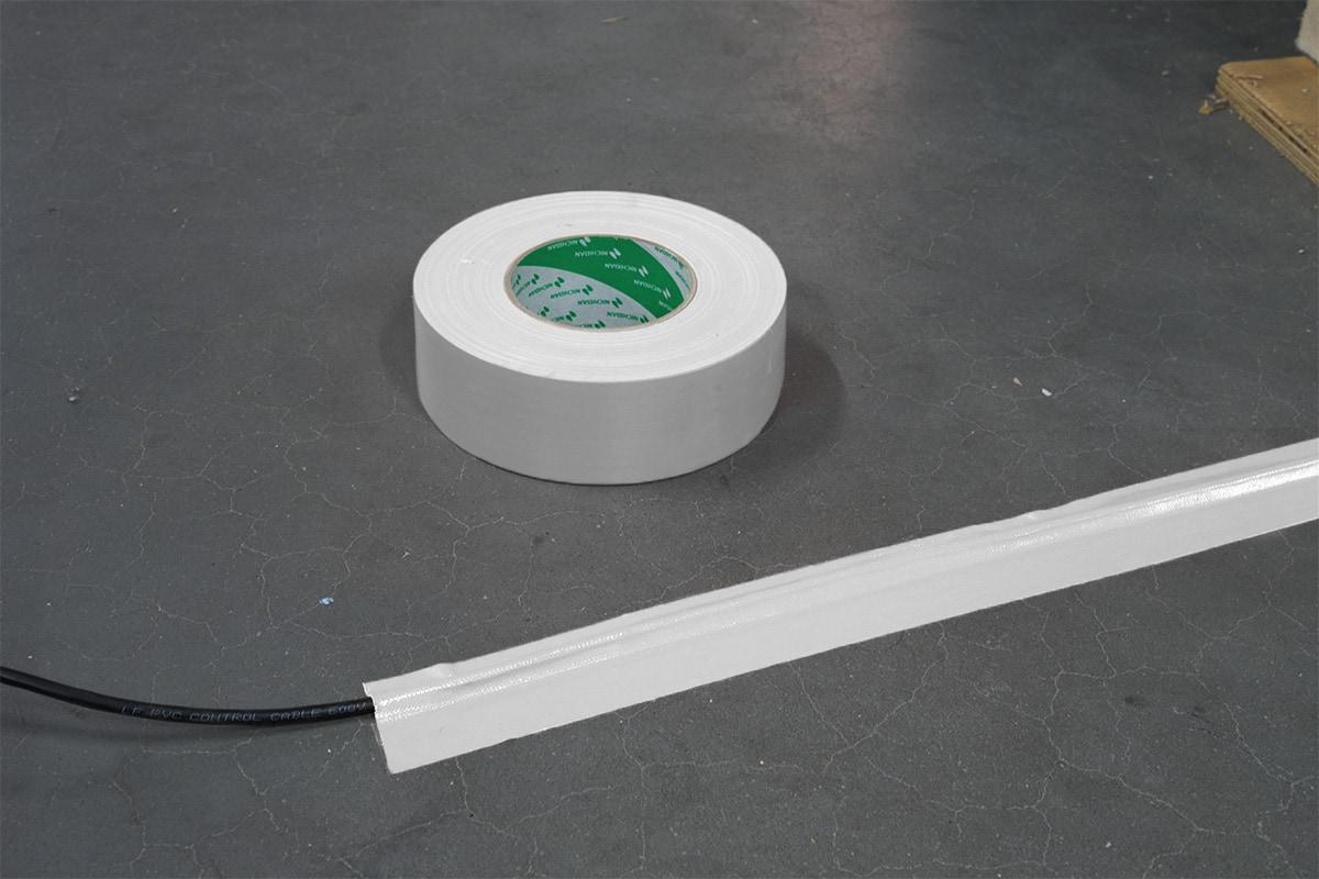 Nichiban® 1200 gaffa tape wit - 150mm x 50m