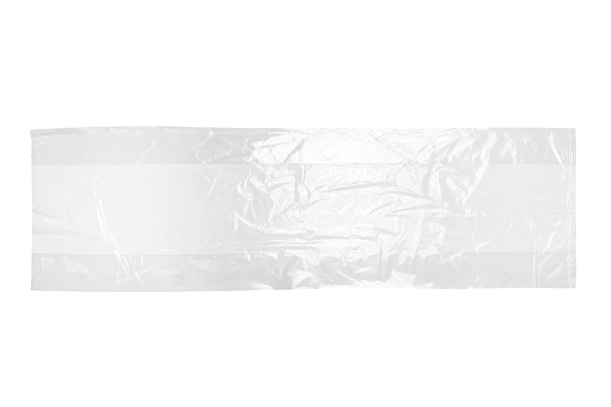 LDPE zijvouwzakken - 11 x 4,5 x 30cm x 50my (1.000 st)