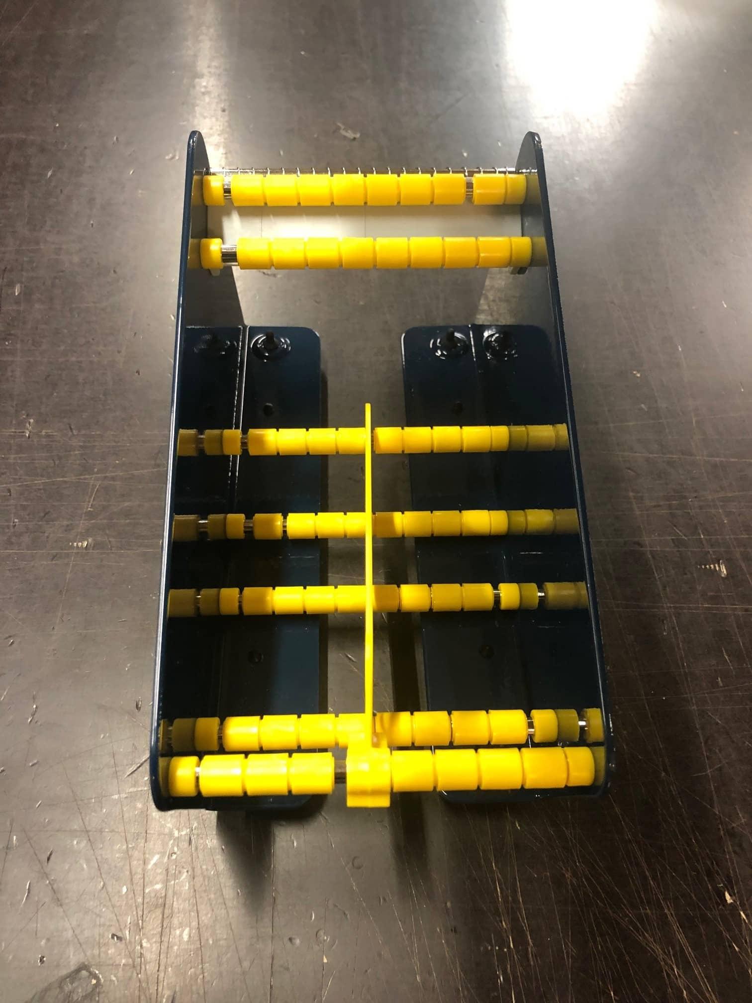 Etikettendispenser klein LB418 - voor 2 rollen