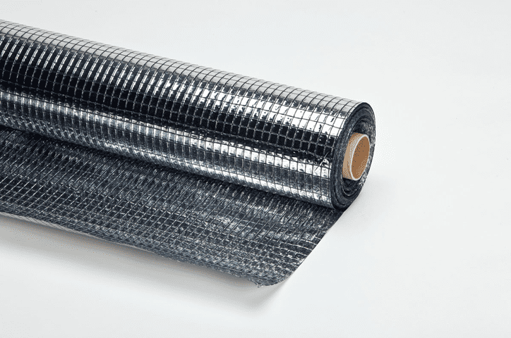 Gewapende dampremmende aluminiumfolie - 150cm x 100m