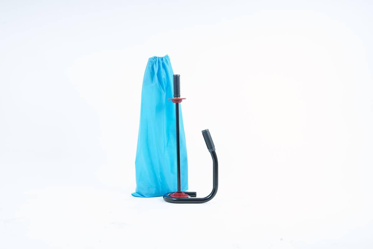 Handwikkelfolie dispenser black edition - 45 - 50cm