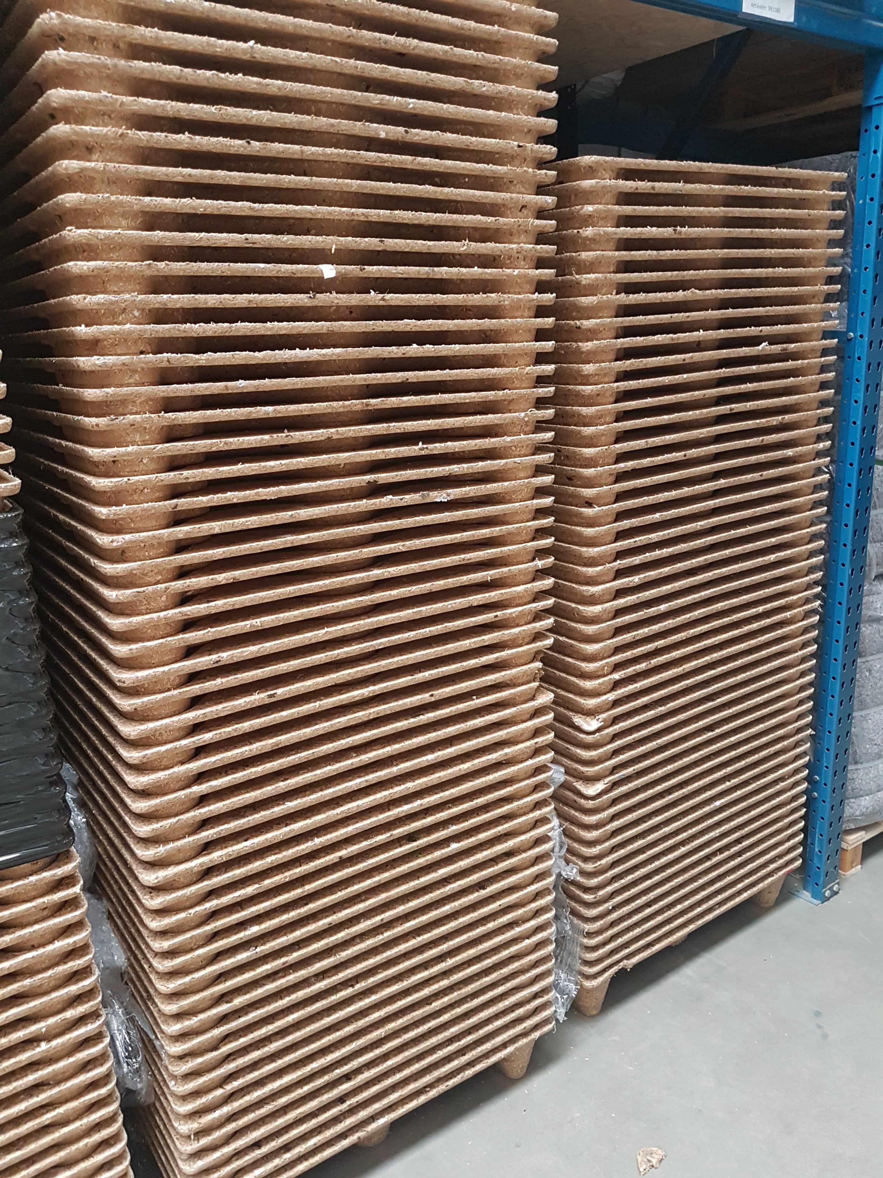 Geperste pallets - 400 x 600mm