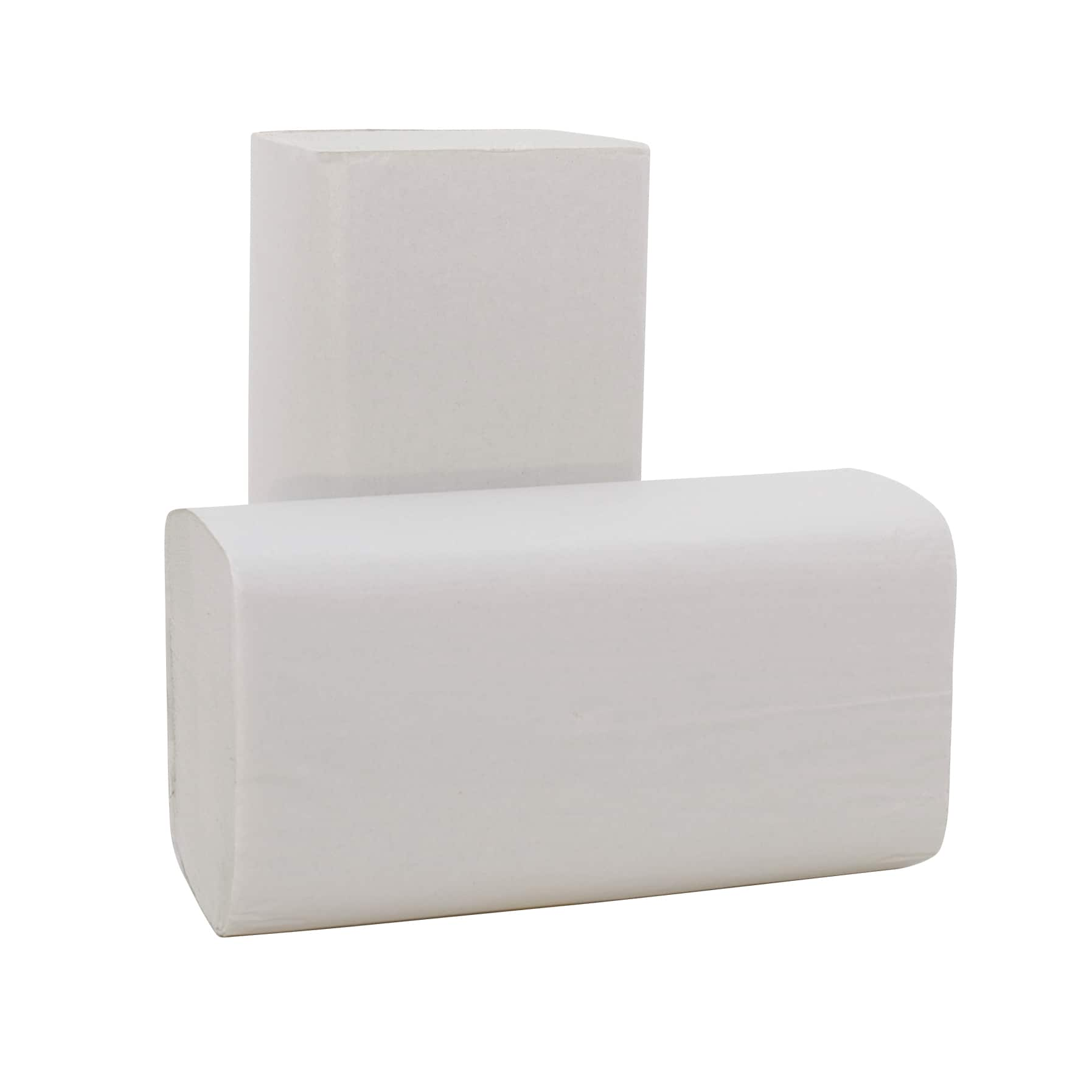 Papieren handdoek Z-vouw gerecycled 2-laags - 23 x 24cm