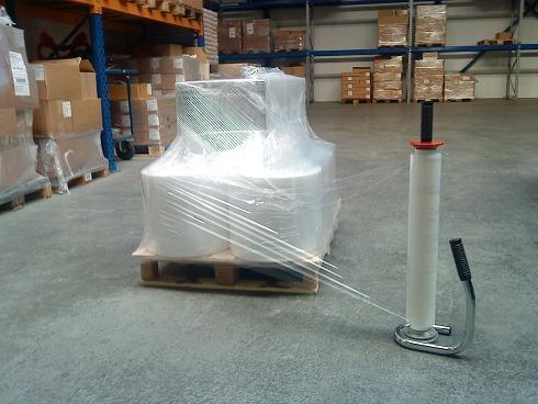Handwikkelfolie transparant - 45cm x 300m x 20my