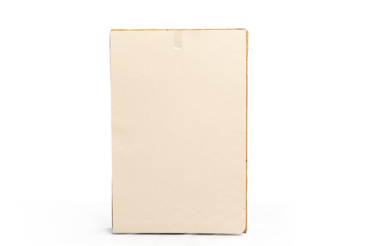 Kartonnen platen - massief - 120 x 80cm x 1mm