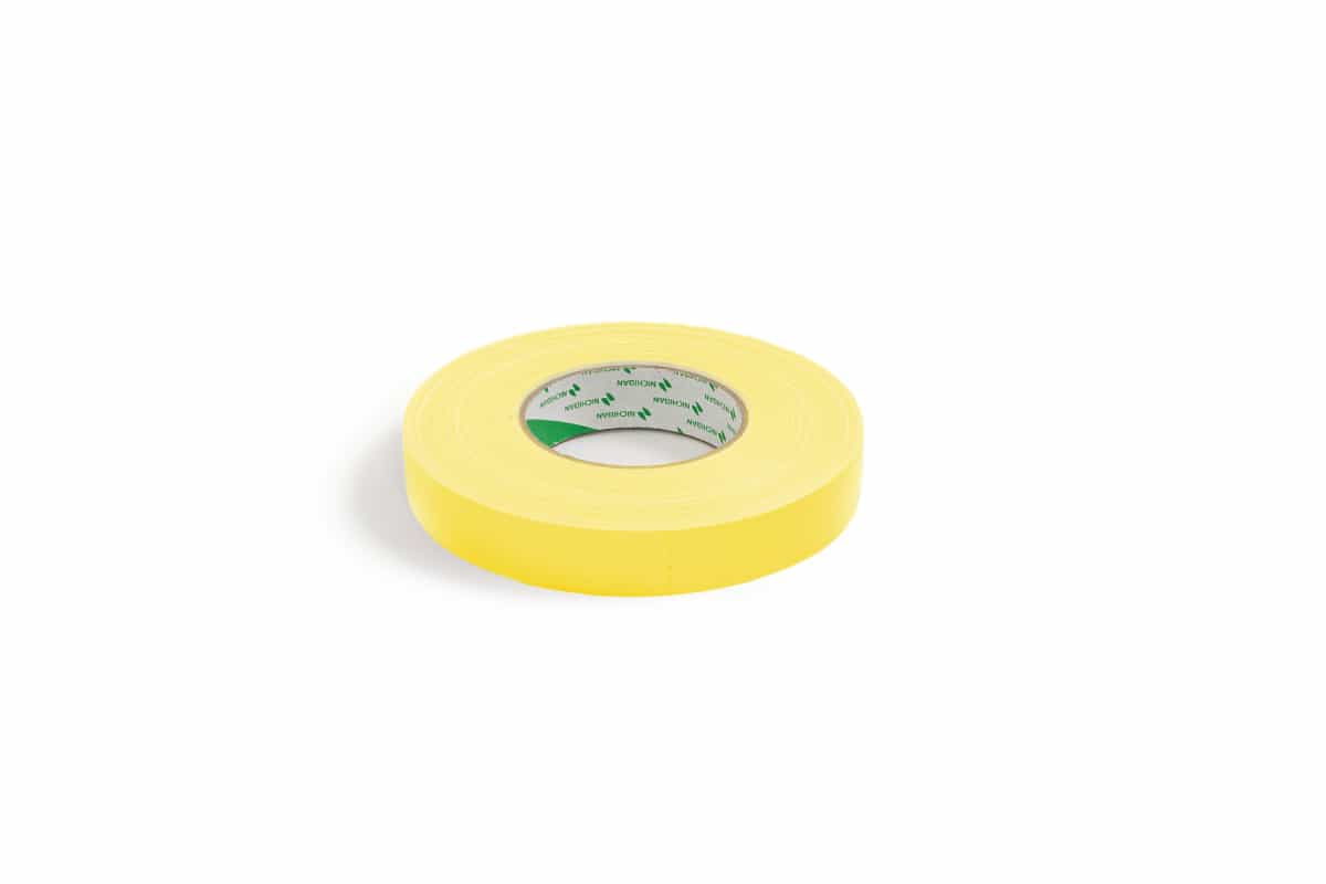 Nichiban® 1200 gaffa tape geel - 19mm x 50m