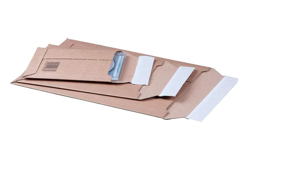 Massief enveloppen bruin - 210 x 292mm (100 st)