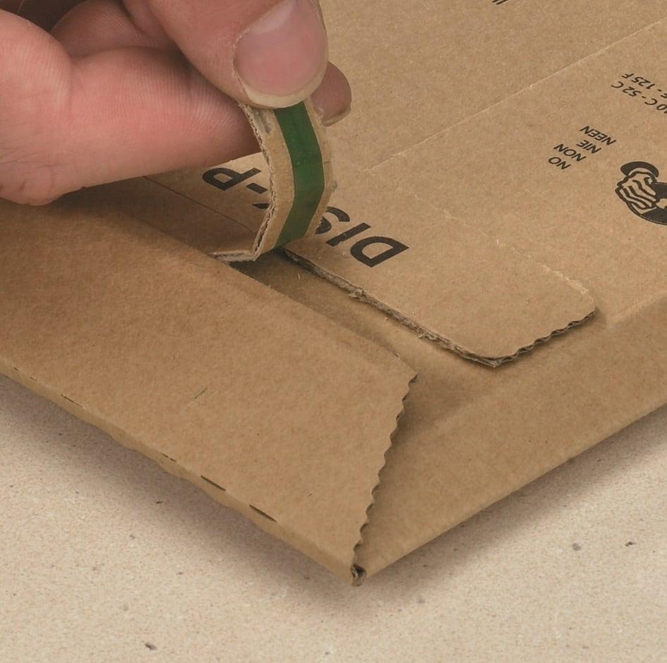 Kartonnen enveloppen Premium - 163 x 232 x 0-50mm (100 st)
