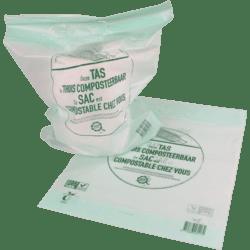 Biodore® bio-plastic draagtas - 35 x 44 / 4cm (500 st)