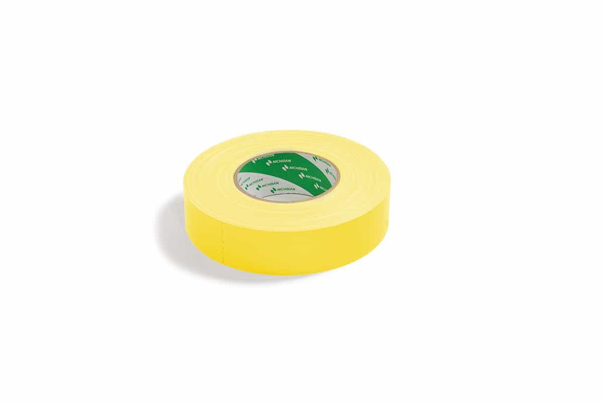Nichiban® 1200 gaffa tape geel - 25mm x 50m